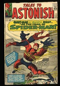 Tales To Astonish #57 VG 4.0 Early Spider-Man Appearance!