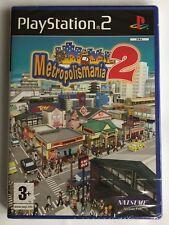 PS2 Metropolismania 2 (2008), UK Pal, Brand New & Factory Sealed