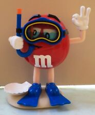 M&M's CANDY MR RED M DIVING