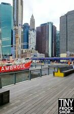 A-105 Barbie Photography Backdrop - Wide - South Street Seaport