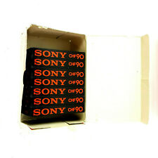 VTG Sony CHF-90 Minute Recordable Cassette Tapes Lot of (7) SEALED NEW