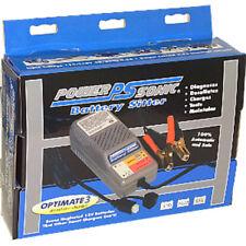 Power Sonic Battery Sitter 12 V Batteries OPTIMATE 3 desulfater-charger 110-120V