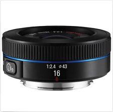 Samsung NX16mm F2.4 i-F Ultra Wide Lens For NX30 NX500 NX300M NX3000 (White Box)