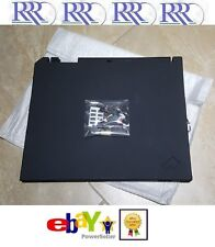 NEW NB IBM ThinkPad T30 LCD Cover, Latch, Screw Covers & Logo 91P7692 46L4803