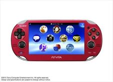 SONY PS Vita PCH-1000 ZA03 RED Wi-fi Model Console F/S SAL JAPAN USED