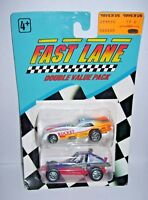 Fast Lane Diecast Cars Toys R Us 1991 Geoffrey inc. NIP Olds Rocket and Mojave