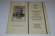 A Concert At The Palace Of Compiegne~Jacques Offenbach~Marcel Couraud~MHS 794