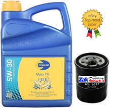 HONDA CIVIC 1.8 I-VTEC OIL FILTER SERVICE KIT + 5W30 FULLY SYNTHETIC OIL 5 LITRE