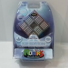 RUBIK'S CUBE REVOLUTION ELECTRONIC PUZZLE GAME ICE EDITION SINGLE/MULTIPLAYER