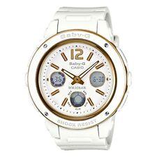 BRAND NEW BGA-151-7B White Casio Baby-G Ladies Watches Analog Digital Neon