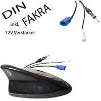 Aktiv-Antenne SharkFin Radio (FM) Navi (GPS) mit DIN-Radio & FAKRA GPS-Anschluss