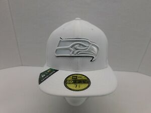 New Era NFL 100 Years Seattle Seahawks Fitted Hat/Cap 59FIFTY 7 1/4 NEW W/TAGS