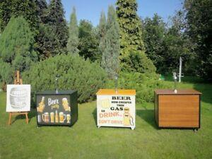 Bierbar Zapfanlage Mobiltheke Schanktheke Rollbar