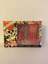 Ed Hardy's Kills Love Slowly Life 3pcs Special Gift Set For Women