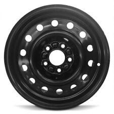 New 1999-2003 Saab 9-3 15x6 Inch Black Steel Wheel Rim 5 Lug 110mm