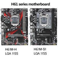 H61 motherboard LGA1155 H61 series DDR3 Dual Channel Intel i3 i5 i7 Core Pentium
