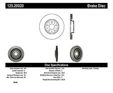 Disc Brake Rotor-High Carbon Alloy Brake Disc-Preferred Front fits 00-06 XKR