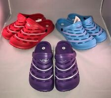 Women's Crocs New All Terrain Clog Red Blue Purple