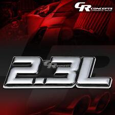 3M TAPE ON AUTO BODY METAL EMBLEM LOGO TRIM BADGE POLISH CHROME BLACK 2.3L 2.3 L