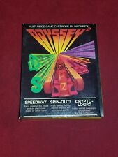 Odyssey 2 Speedway Spin Out Crypto-logic Used Complete in Box