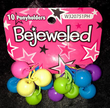 New Kid's Bejeweled 20 Ponyholders Elastics (Ponytail Holders) - Free Shipping