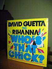 DAVID GUETTA FEAT RIHANNA WHO'S THAT CHICK CD SINGOLO CARDSLEEVE NUOVO SIGILLATO