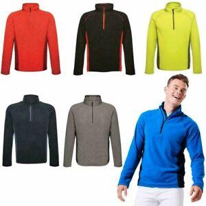 Mens Fleece Top Sizes S - 3XL, Regatta Sports Ashmore Half Zip Fleeces Tops UK