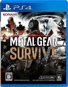 PlayStation 4 METAL GEAR SURVIVE Sony Konami Japan