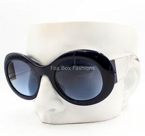Chanel 5265 1446/S2 Sunglasses Polished Blue & Clear - Blue Lens