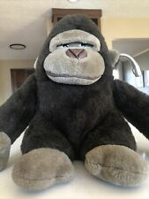 Gorilla 15� Plush Dark Brown Tan