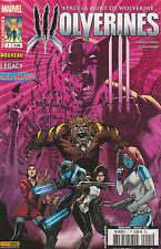 WOLVERINES N° 1 COMICS Panini Marvel 2015 Après mort Wolverine LOGAN LEGACY 2015