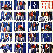 BROS ‎- Push (LP) (EX-/G/VG)