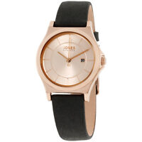 Jones New York Rose Gold Dial Leather Strap Ladies Watch 11683R528-003
