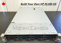"""HP ProLiant DL380 G9 Server 4x 3.5"""" Bays  2x500W"""
