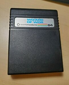 Wizard of Wor Cartridge for Commodore 64, Tested and Working (Rare)