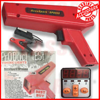 AccuSpark Ignition RED Adjustable Strobe Timing Lamp / Light