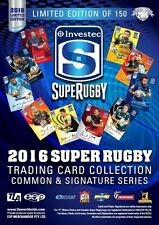 2016 Super Rugby New Zealand 25-Card Box Set Limited Edition
