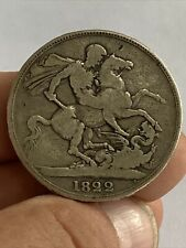More details for 1822 george iv silver crown coin tertio edge s.3805 uk post free