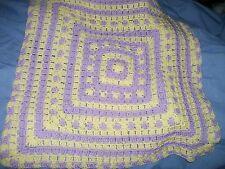 New Baby Receiving Blanket  Hat & Diaper cover set  Hand Crocheted