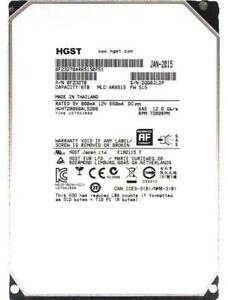 Disque Dur SAS HGST HUH728060AL5200 6To / 6TB 12Gb/s, cache 128 MB 7 200 rpm 3.5