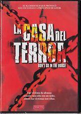 LA CASA DEL TERROR de Joseph Ellison. TERROR GORE (film slasher). DESCATALOGADA.