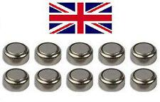 10 x 1.55V bouton coin cell batterie piles AG13 AG-13 LR44 S76 AG14 L1154G