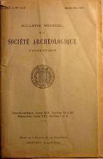 Bulletin mensuel de la Société Archéologique d'Eure-et-Loir. Janvier-juin 1930.