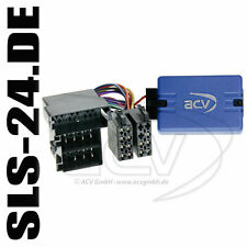 Sony autoradio volante Interface Radio Adaptador audi a3 a4 a6 a8 TT enchufe ISO