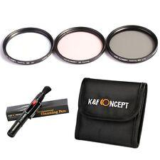 K&F Concept 58mm UV CPL Warming filtri lent Kit per Canon T5i T4i T3i 700D 18-55