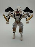 """Bandai Power Rangers MMPR Dino Thunder 7"""" White Ranger Action Figure 2003"""