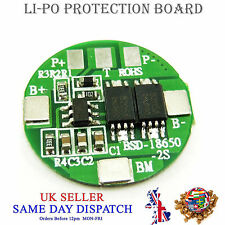 5x 2 celle batteria al litio BMS Protection Board 18mm PCB equilibrio ionico Pack Modulo