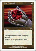 MtG x1 Fire Diamond 7th Edition - Magic the Gathering Card