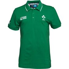 RUGBY 2015 WORLD CUP - Canterbury Mens IRFU Ireland Supporters Polo XXX/L