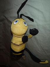 "Dreamworks Bee Move Jerry Seinfeld 10"" Plush Soft Toy Stuffed Animal"